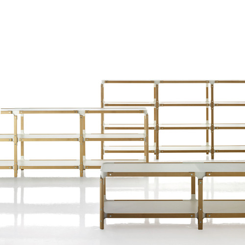 Magis Steelwood Shelving System by Magis