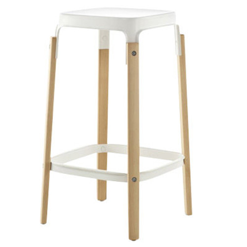 Steelwood Stool by Magis