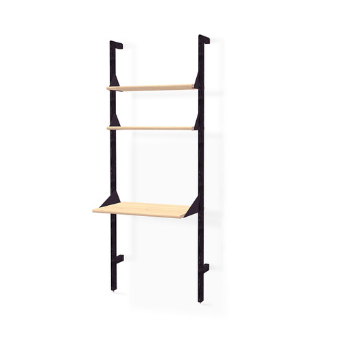 Branch-1 Shelving Unit with Desk by Gus* Modern
