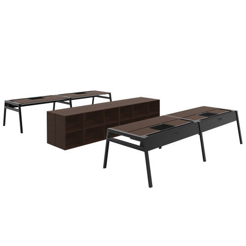 Bivi Office for Four by Steelcase