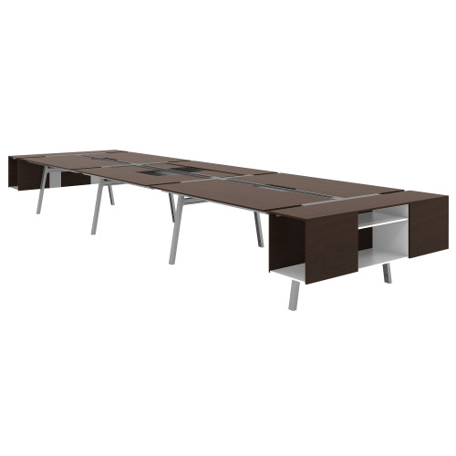 Bivi Shared Table for Six by Steelcase
