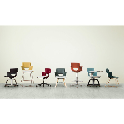 Shortcut Chair with Wood Legs by Steelcase