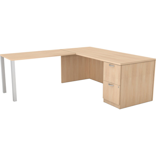 Currency Right Hand Desk & Return by Steelcase