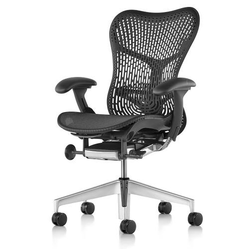Mirra 2 Chair, Triflex Back, by Herman Miller