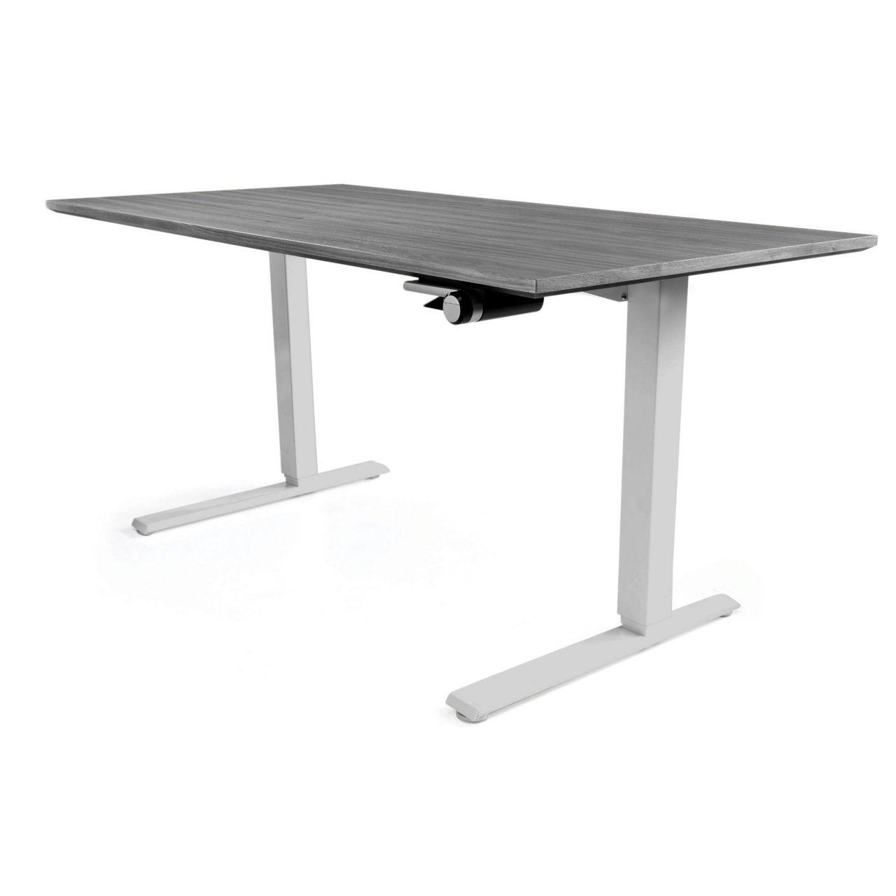 Float Desk in Grey 48 in Wide by Humanscale