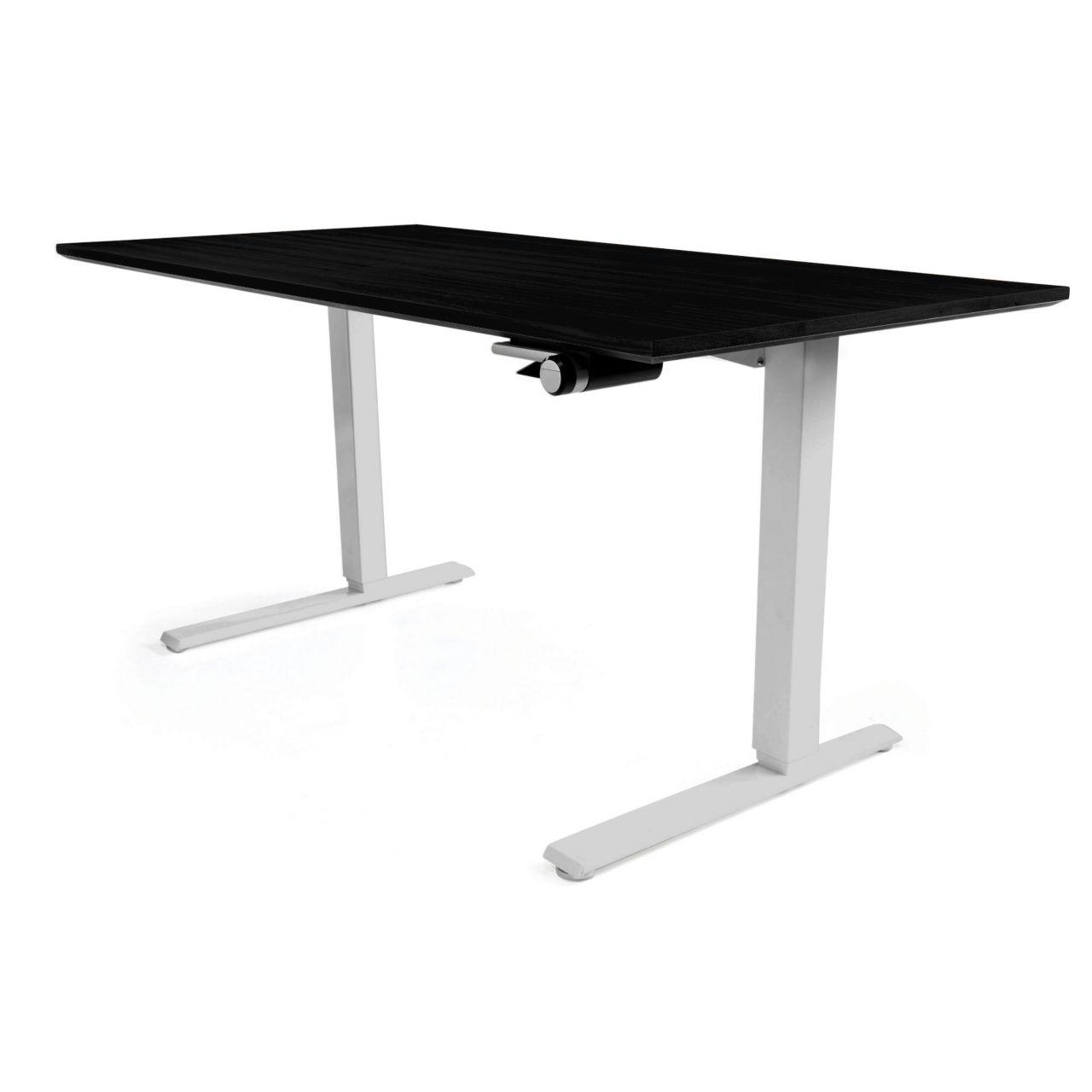 Float Desk in Black 60 in Wide by Humanscale