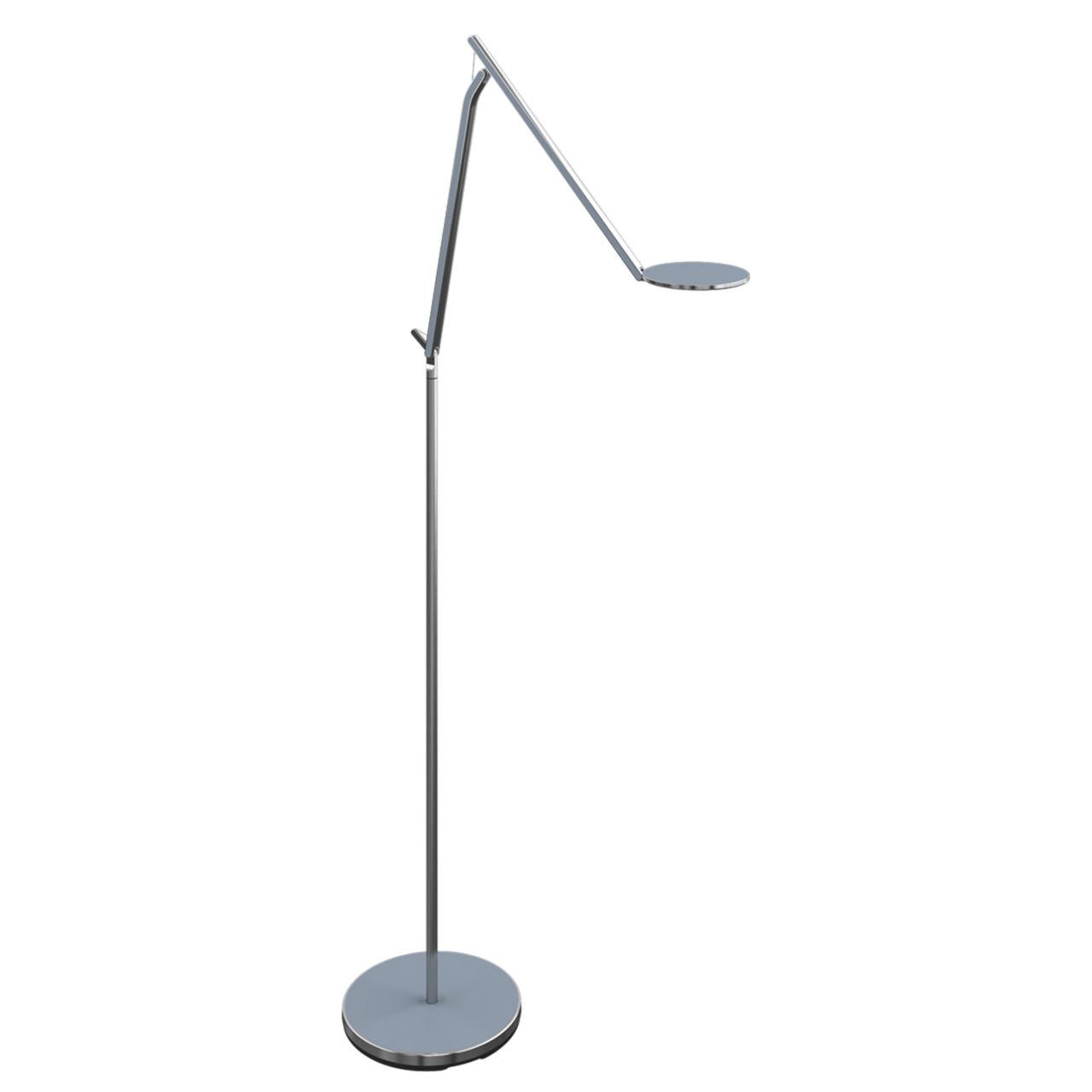 Infinity Floor Lamp in Slate Blue Semi Matte by Humanscale