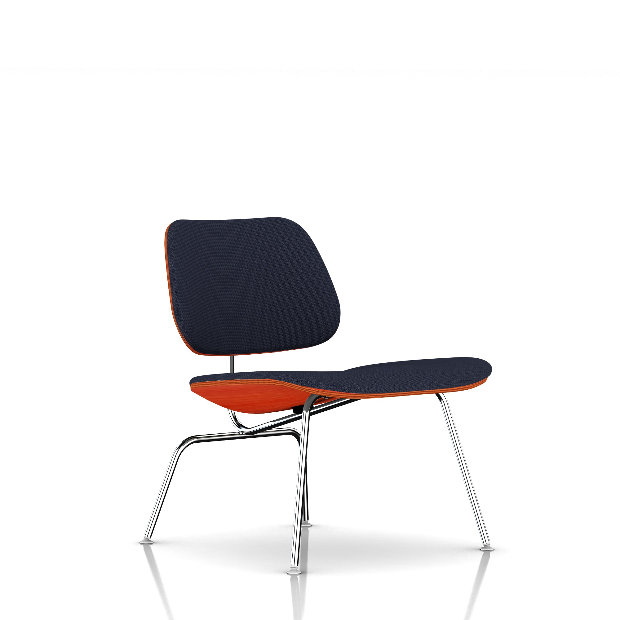 Eames Molded Plywood Lounge Chair in Twilight by Herman Miller