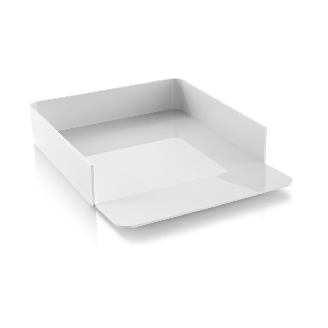 Formwork Paper Tray in Concrete by Herman Miller