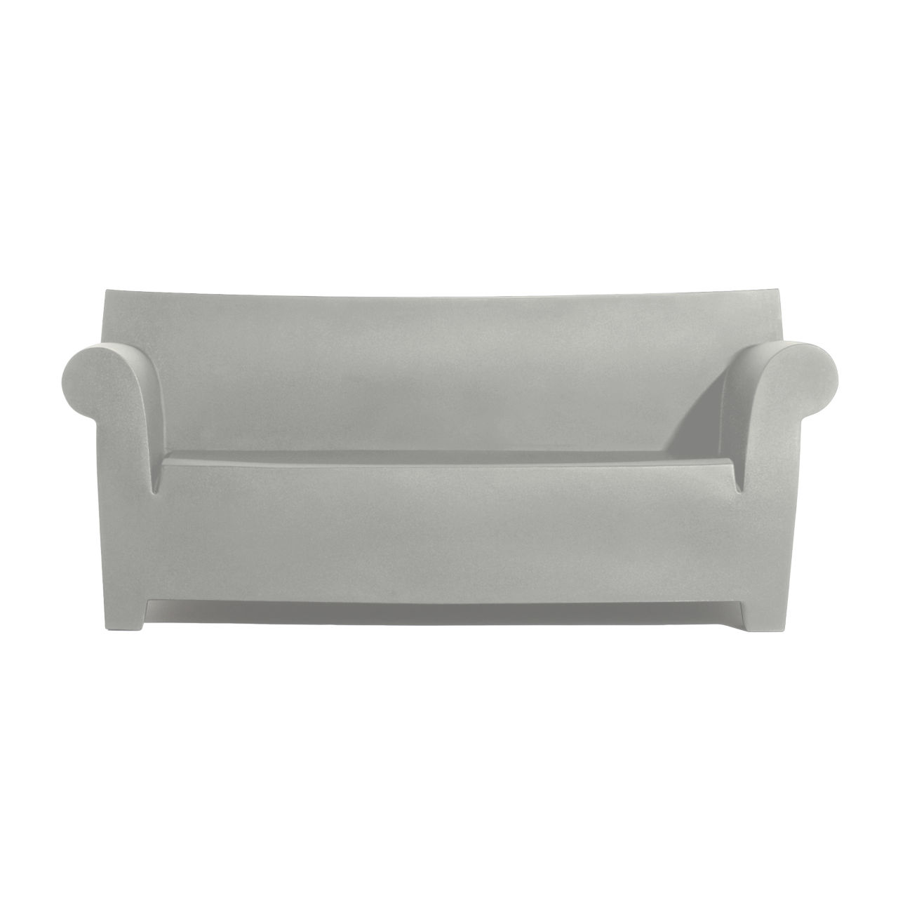 Bubble Club Sofa in Light Grey by Kartell