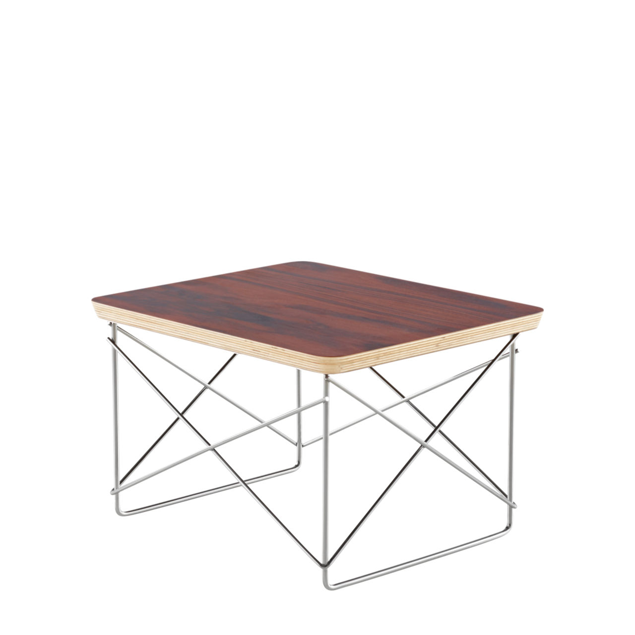 Eames Wire Base Table in Santos by Herman Miller