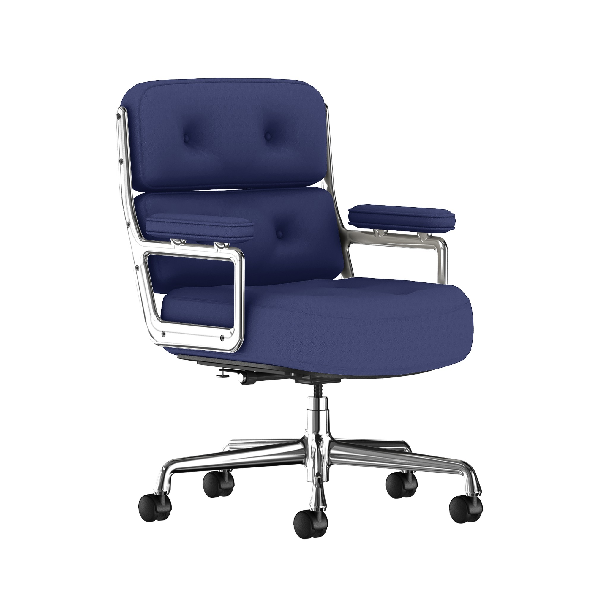 Eames Executive Work Chair Fabric in Twilight by Herman Miller