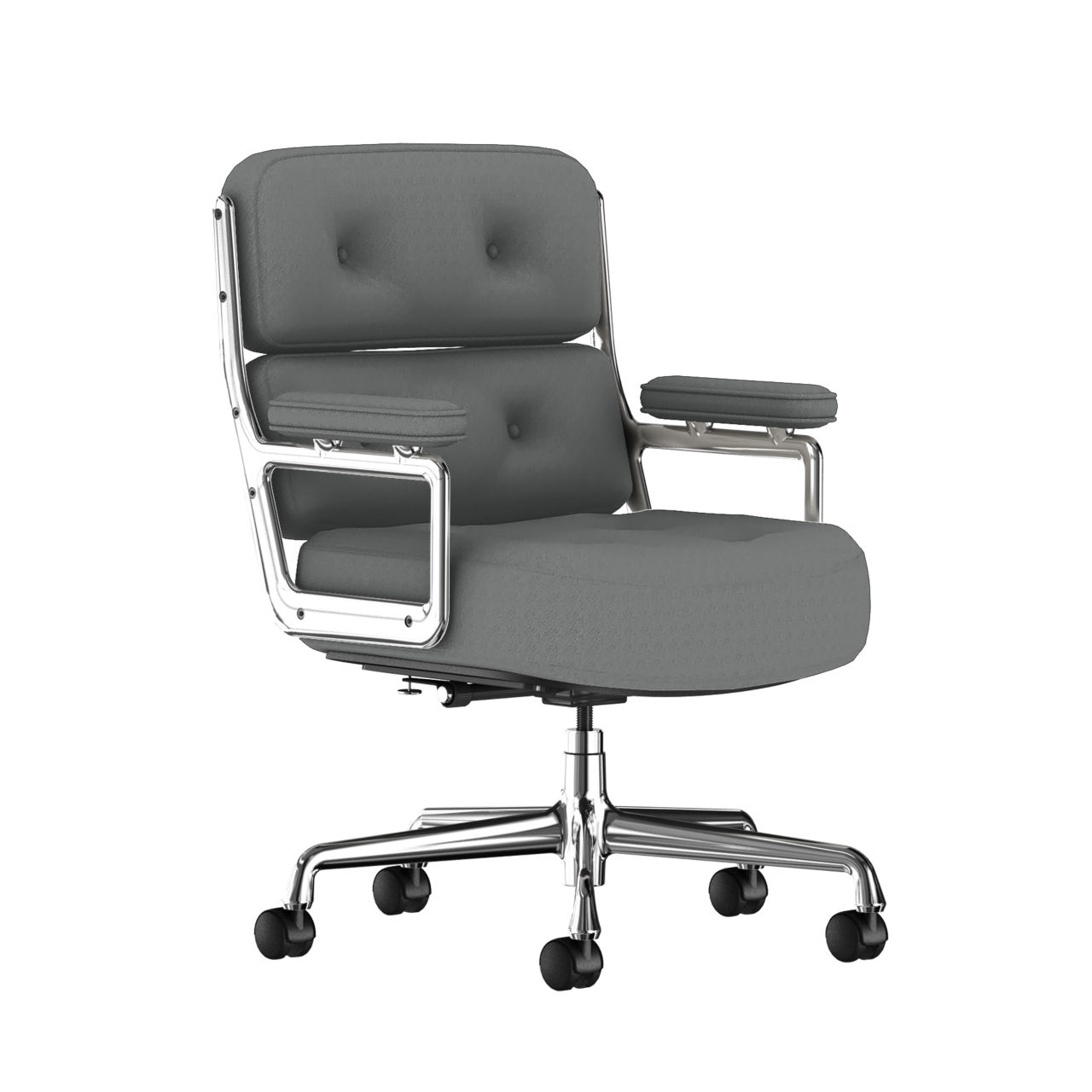 Eames Executive Work Chair Fabric in Slate Grey by Herman Miller
