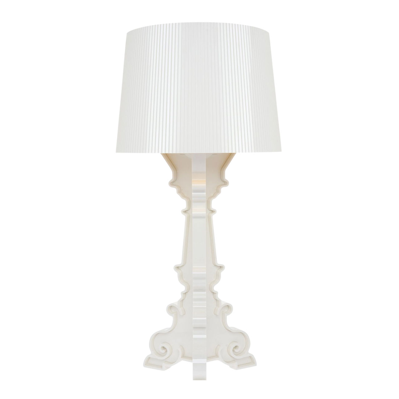 Bourgie Lamp in White by Kartell