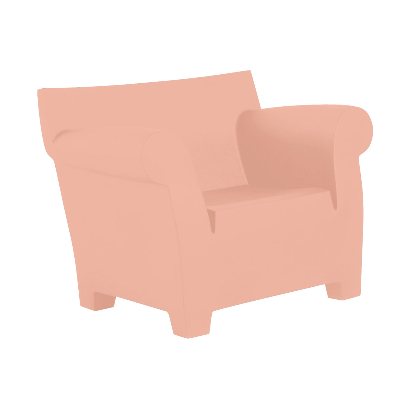 Bubble Club Chair in Powder by Kartell
