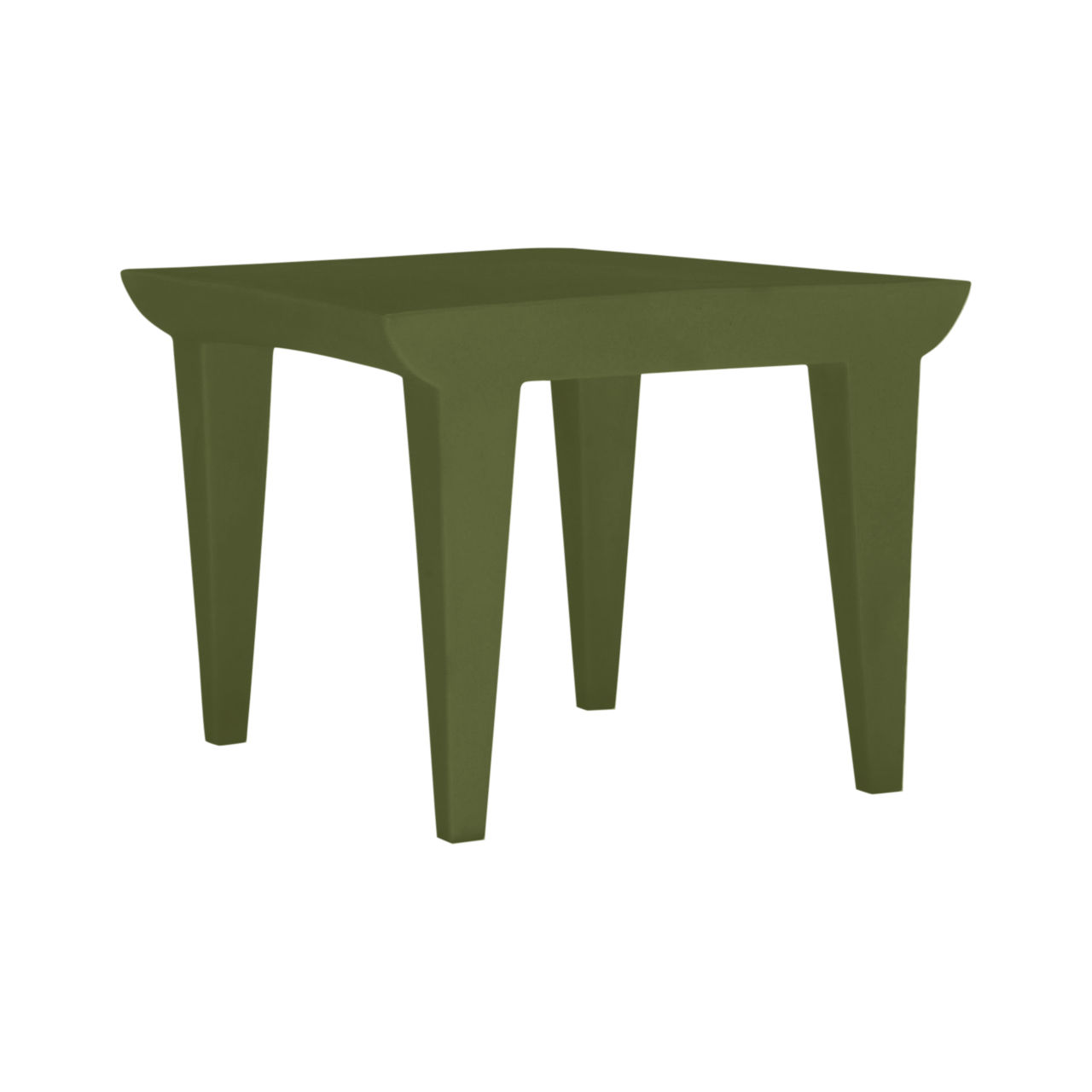 Bubble Club Side Table in Green by Kartell