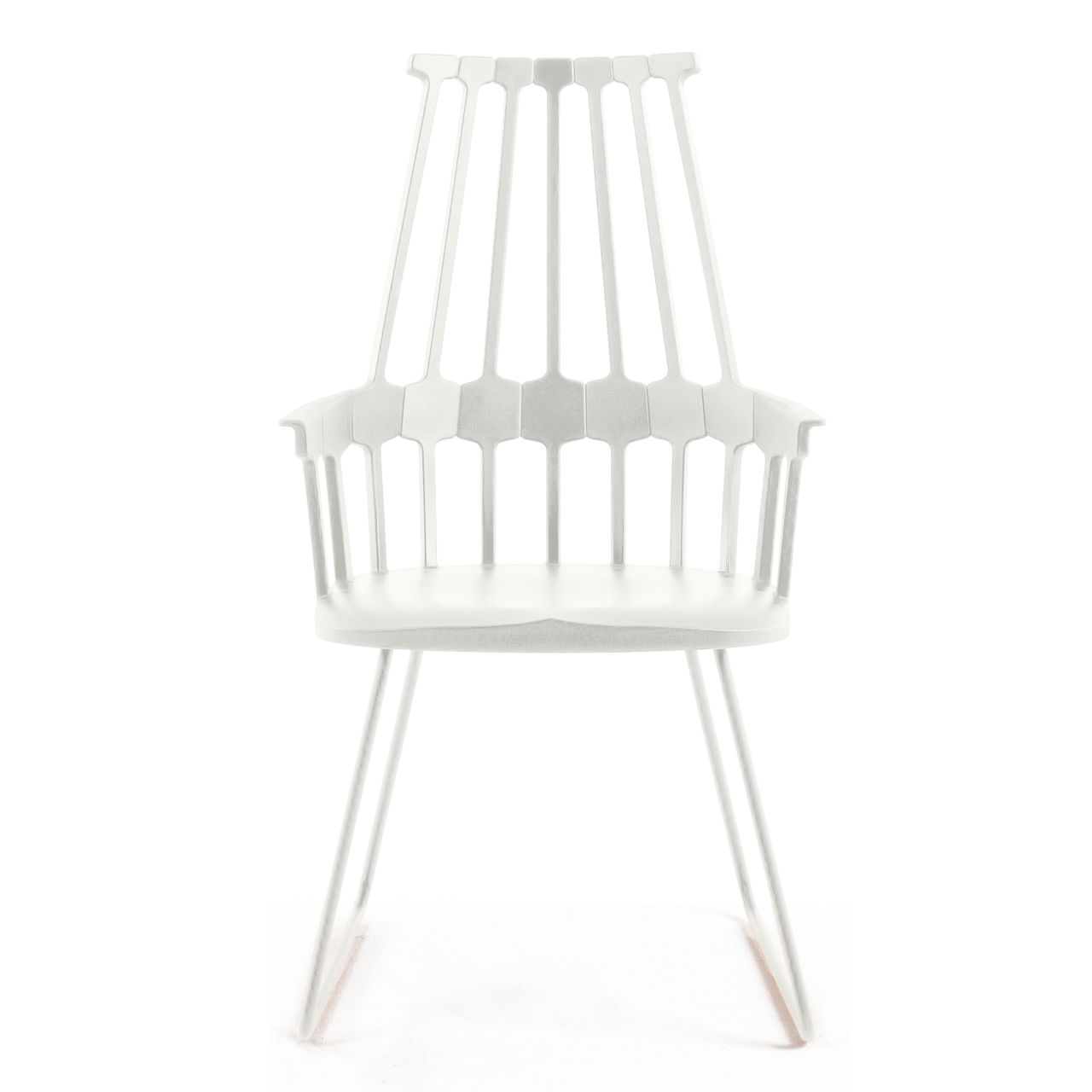 Comback Chair in White by Kartell