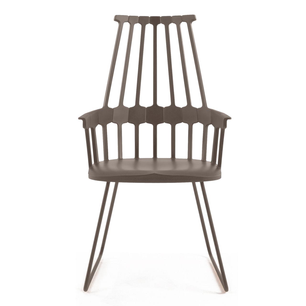Comback Chair in Hazelnut by Kartell