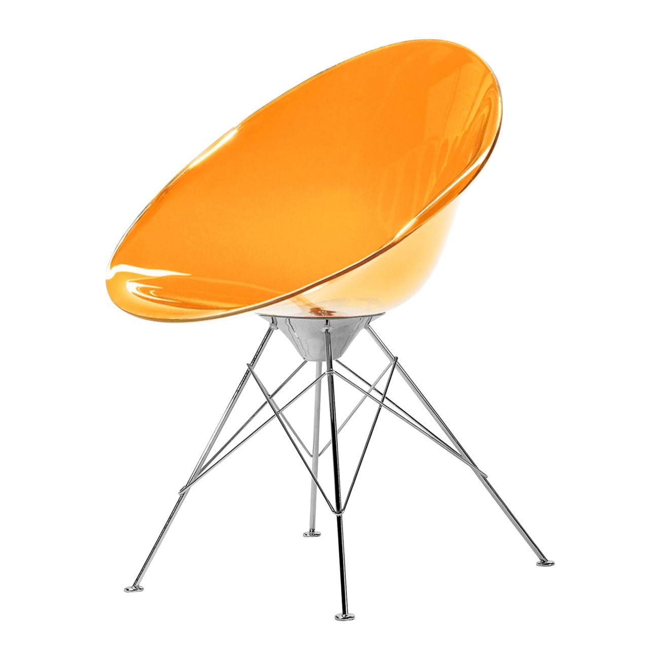 Ero S Chair in Orange by Kartell