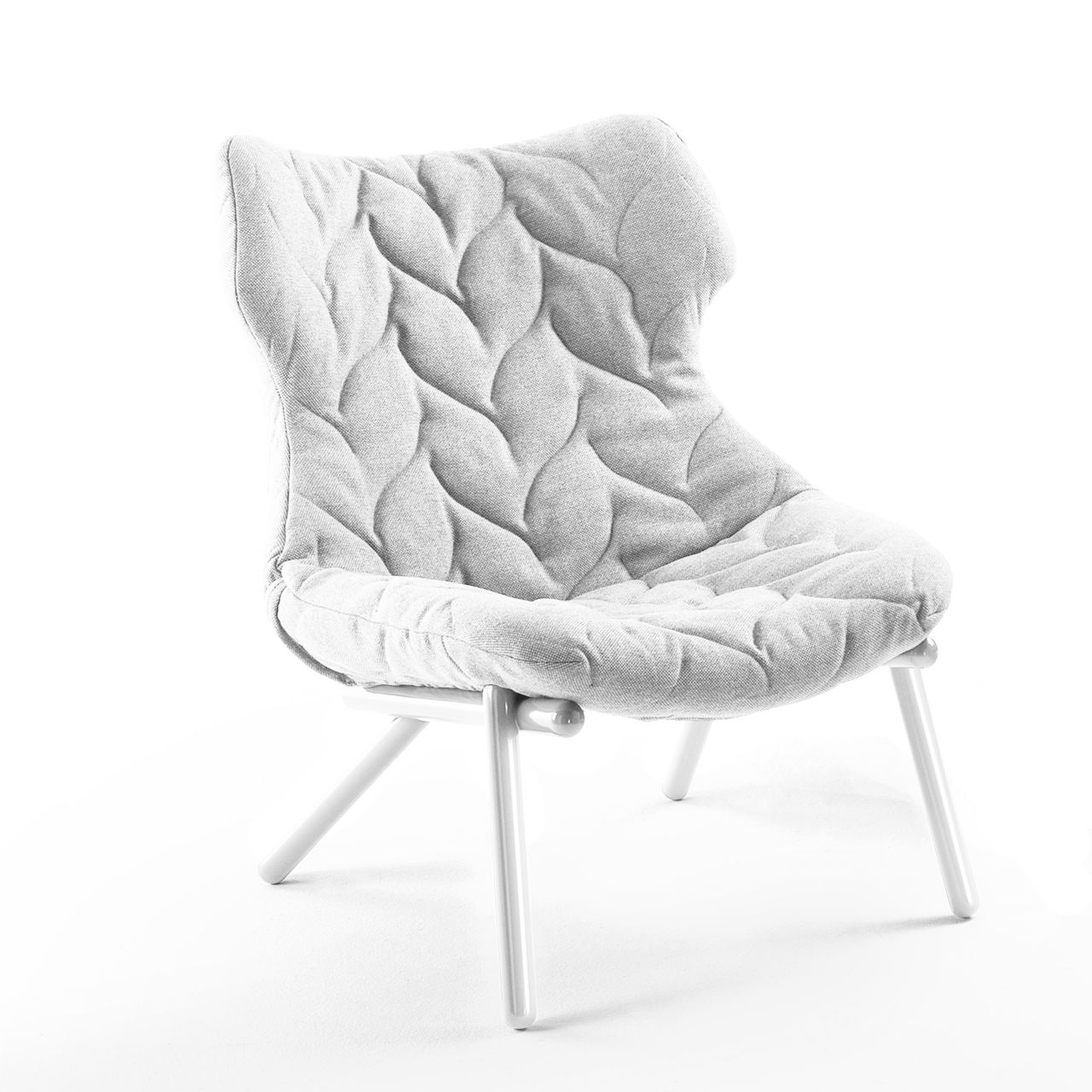 Foliage Chair in White by Kartell