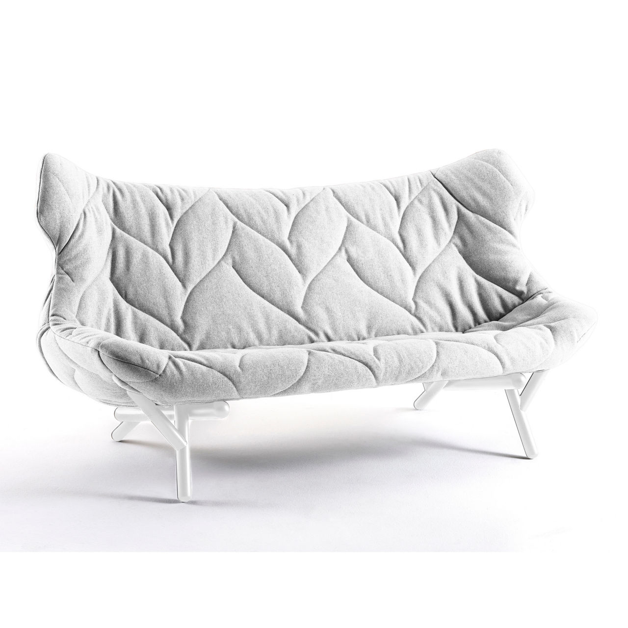 Foliage Sofa in White by Kartell