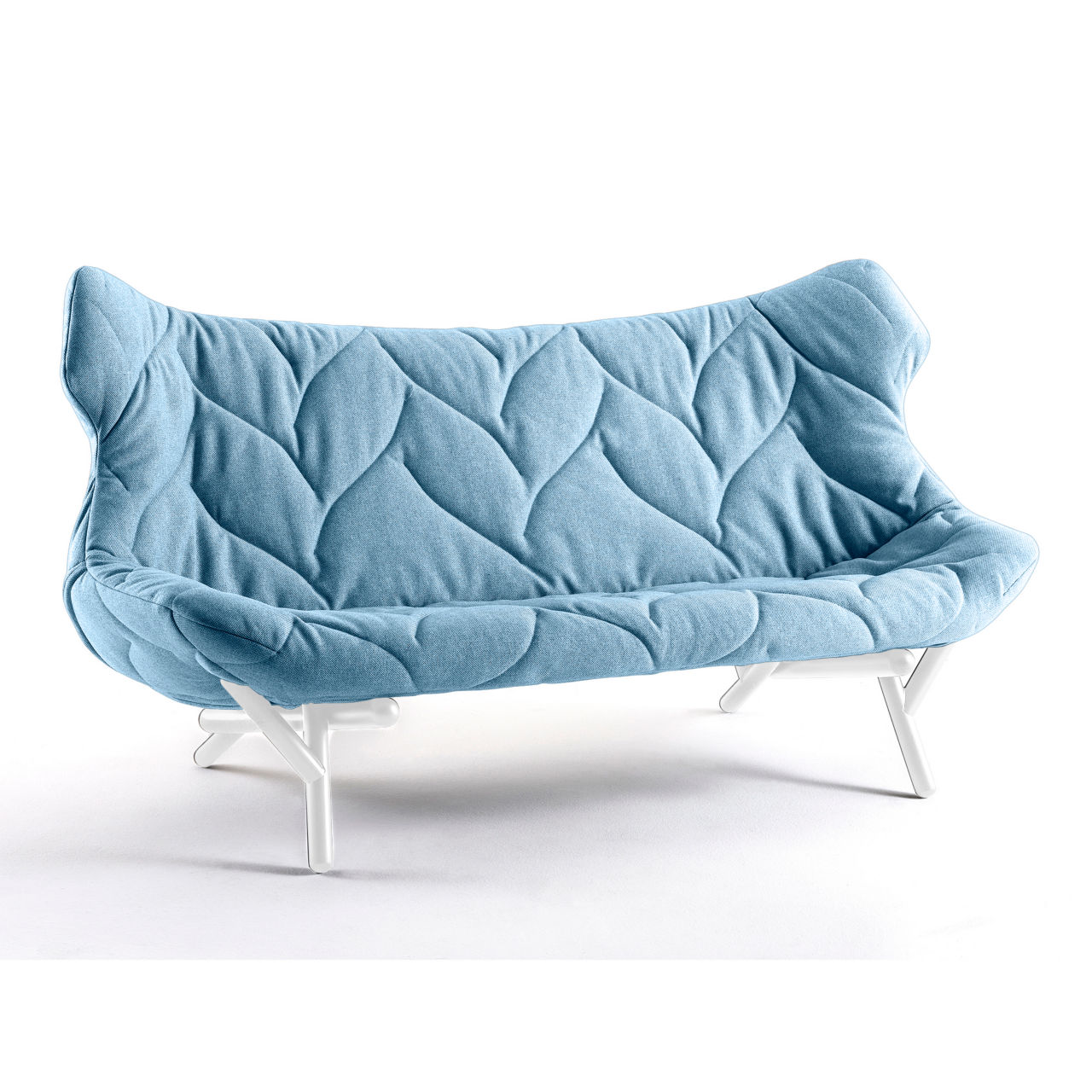 Foliage Sofa in Trevira Blue by Kartell