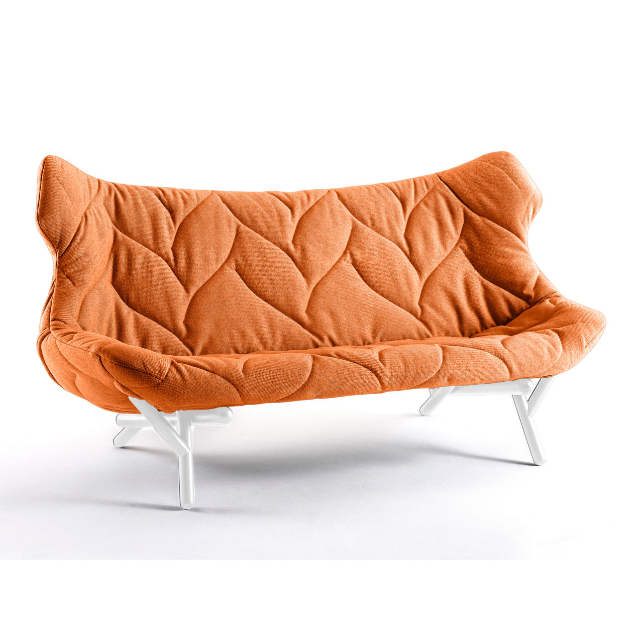 Foliage Sofa in Orange by Kartell