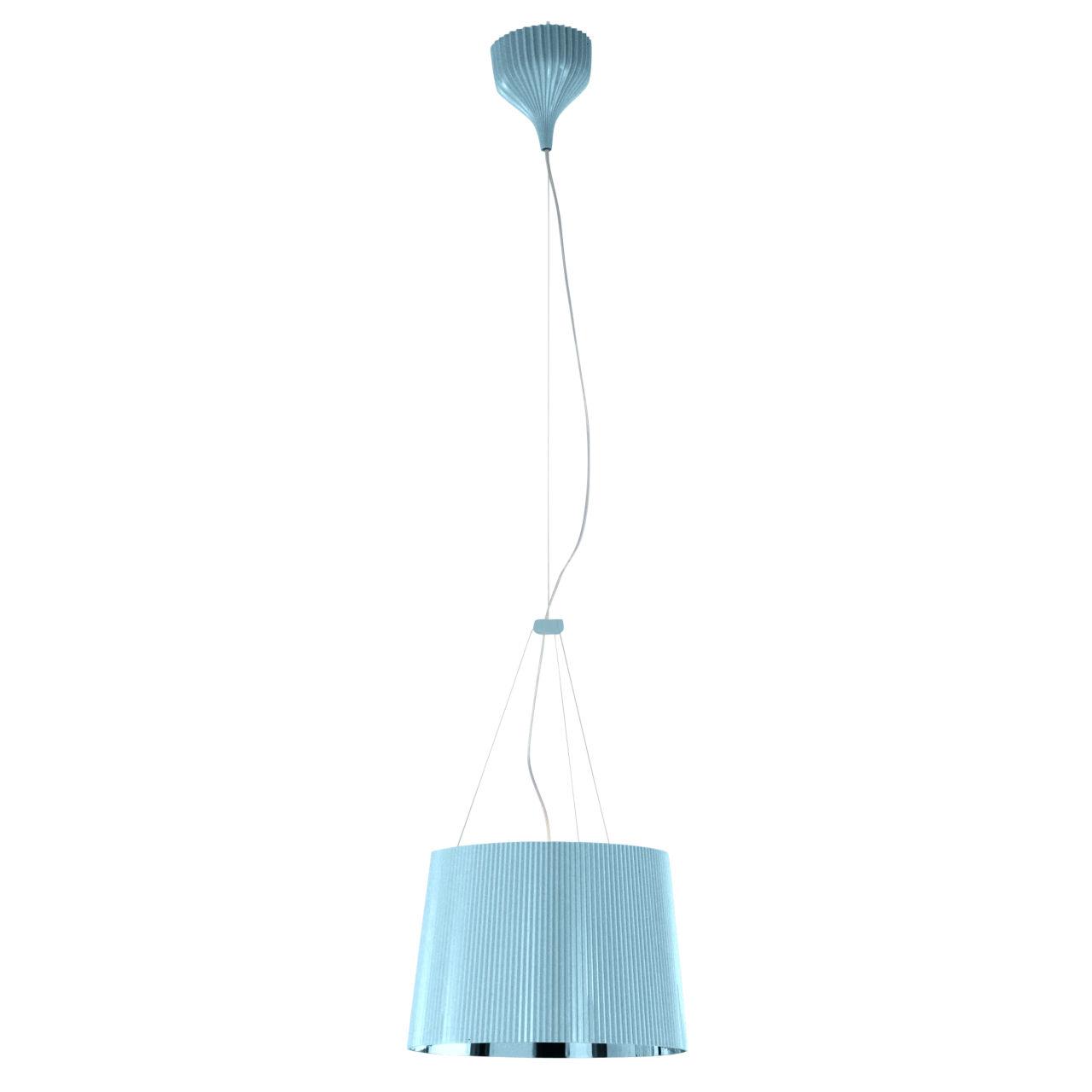 Ge Pendant Lamp in Light Blue by Kartell