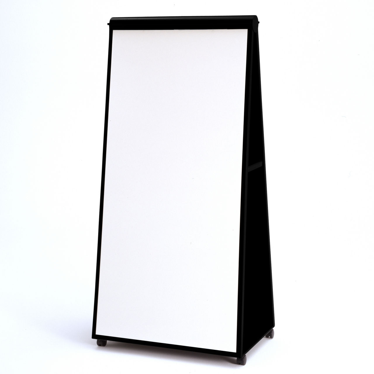 Groupwork Mobile Easel in Black by Steelcase