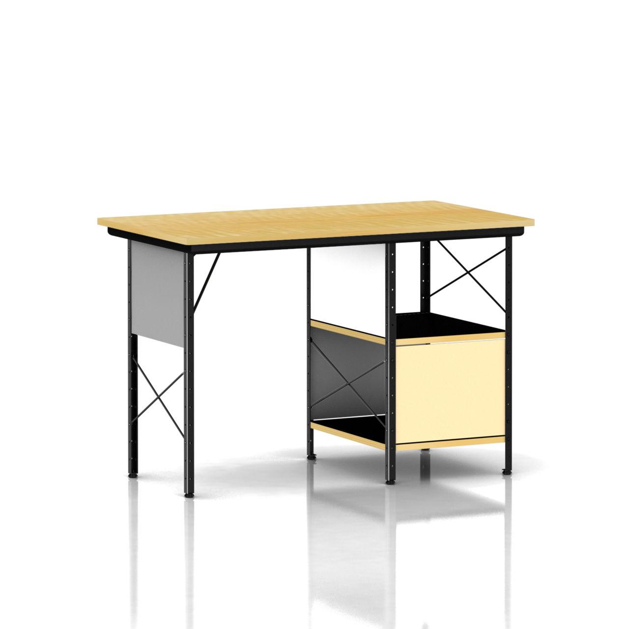 Eames Desk Unit in Neutral by Herman Miller