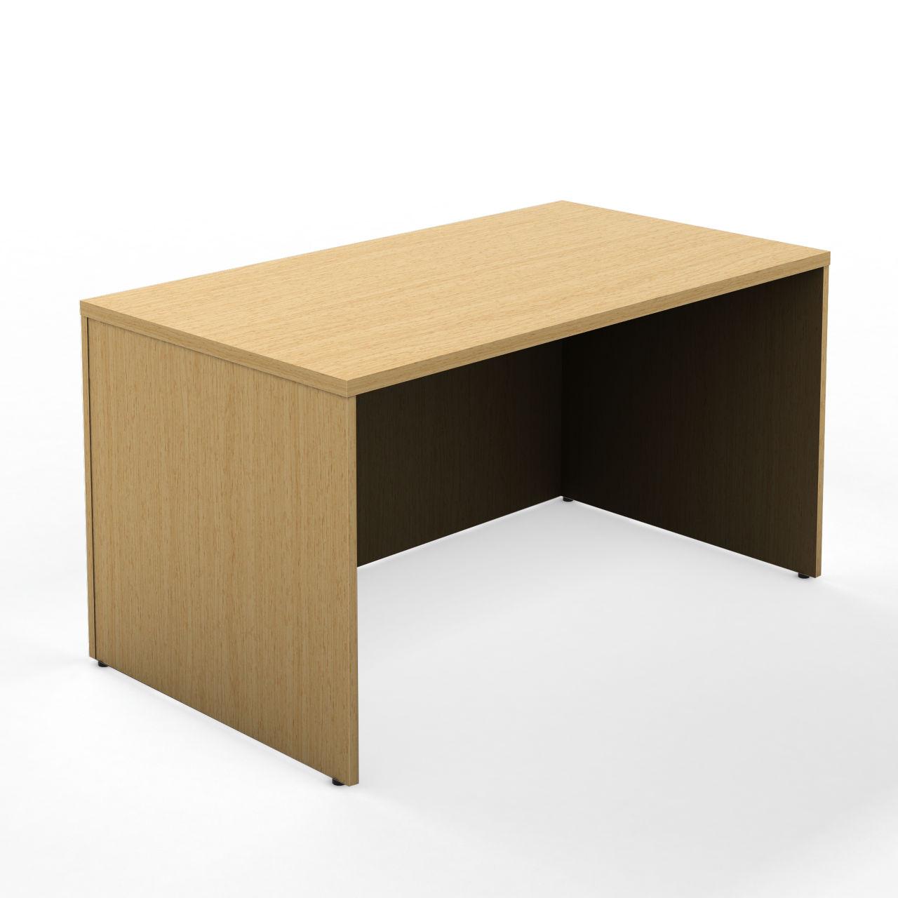 Currency 48 Rectangle Desk in Warm Oak 24 in by Steelcase