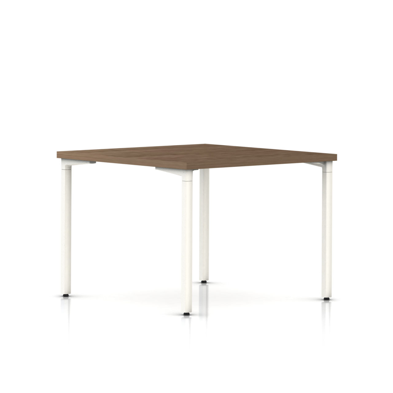 Everywhere Square Table in Walnut on Ash by Herman Miller