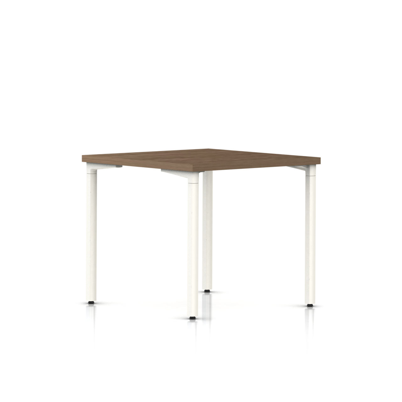 Everywhere Square Table in Walnut on Ash 30 IN x 30 IN by Herman Miller