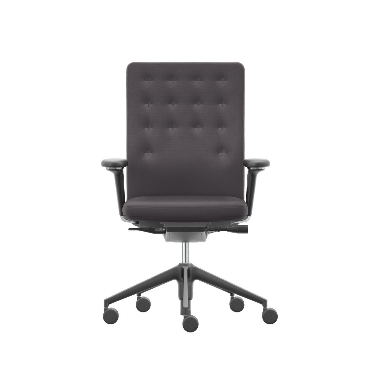 ID Trim Office Chair in Sierra GreyNero by Vitra