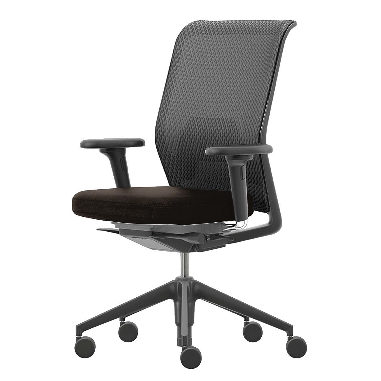 ID Mesh Office Chair in Basic Dark Plastic by Vitra