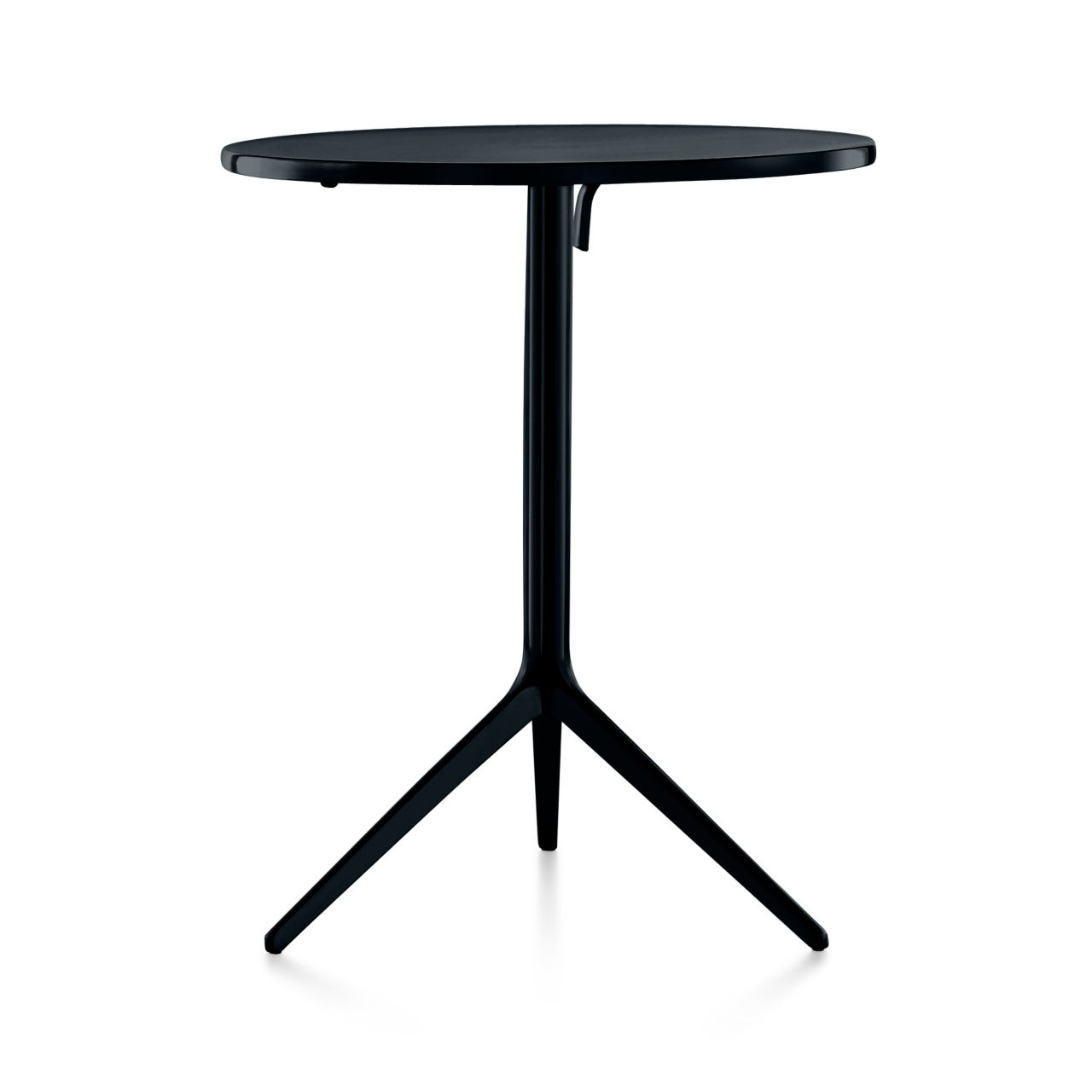 Central Table Outdoor in Black by Magis
