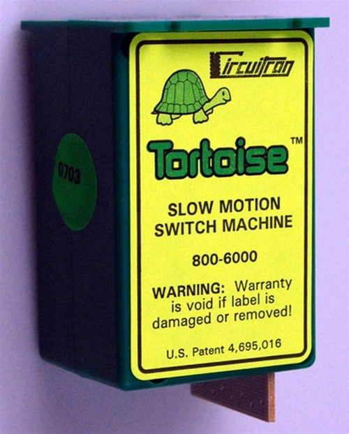 Circuitron 800-6006 Tortoise Switch Machine Value 6 Pack
