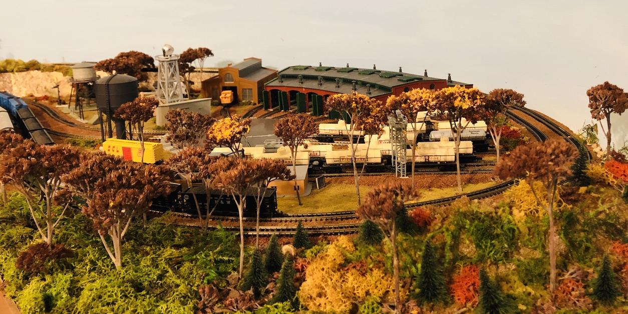 model railroad turntable