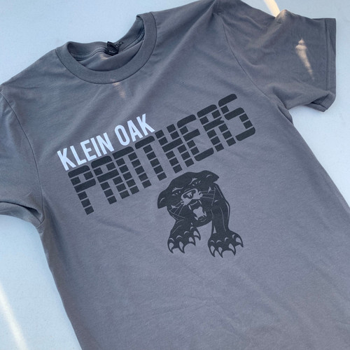 Grey Klein Oak Panthers shirt