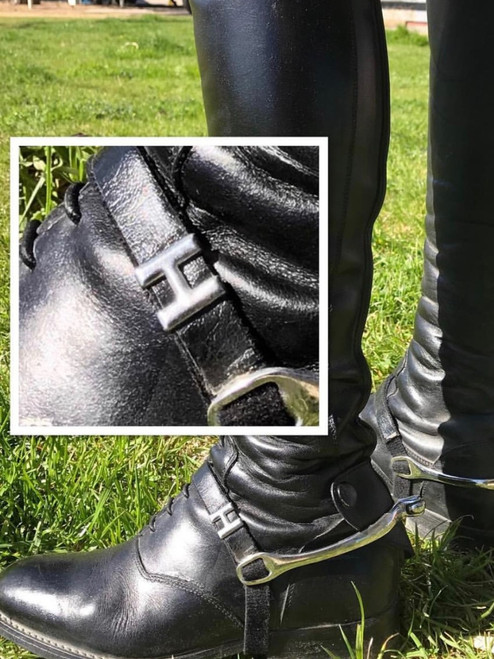 """The Show Spur Straps with Custom Initials"""