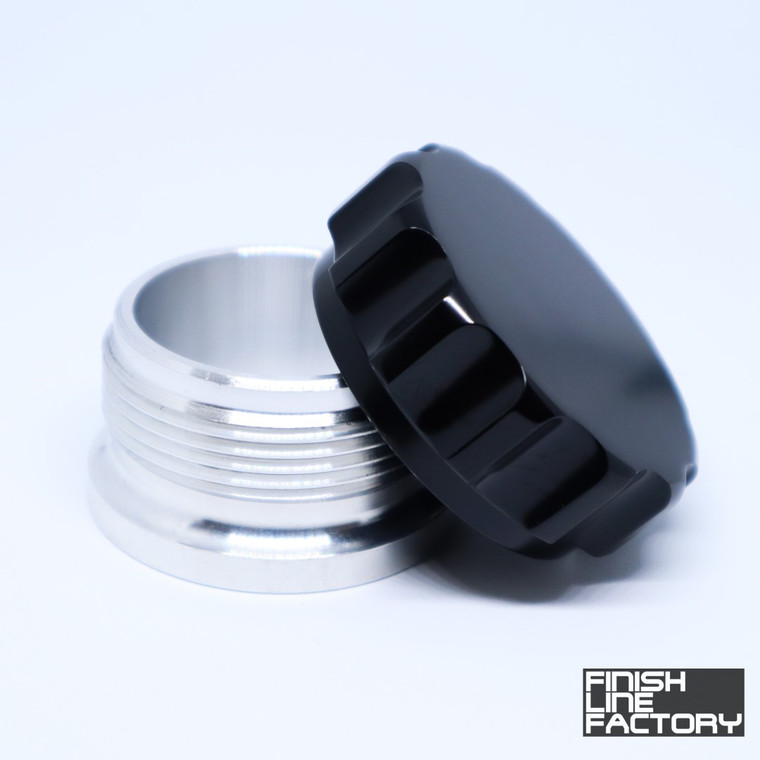 Weld-on Filler Neck and Cap - 2.5 inch
