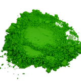 Neon Green Synthetic Mica