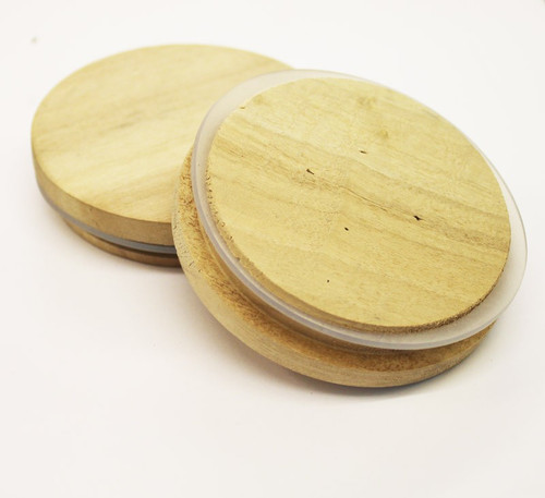 30cl Bamboo Candle Glass Lid