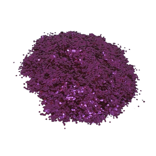 Fuschia Biodegradable Cosmetic Glitter