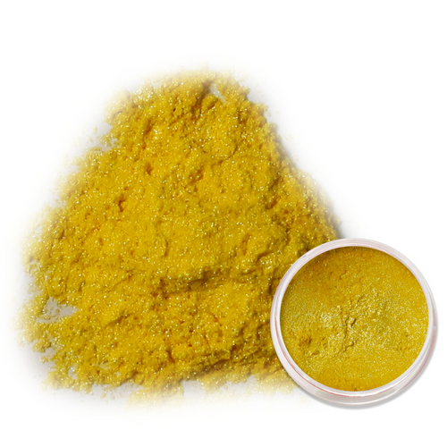 Yellow Synthetic Mica