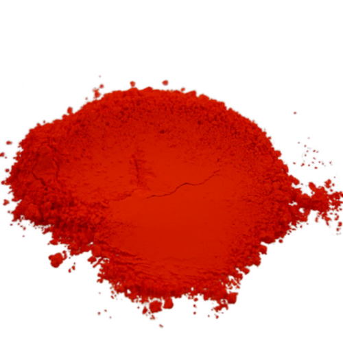 Neon Blood Orange Synthetic Mica