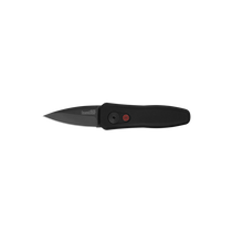 KERSHAW Launch 4 DLC Black Spear Point Black Aluminum Handle Automatic Folding Knife