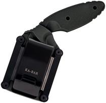 KA BAR Original TDI Black Drop Point Black Zytel Handle Fixed Blade Knife