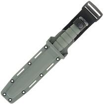 KA BAR Full Size Fighting Utility Knife Black Clip Point Foliage Green Kraton Handle Fixed Blade Knife