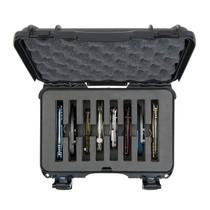 PLASTICASE NANUK 909 Black 8-Knife Cut-Out Foam Insert Hard Case (909-8KNI1)